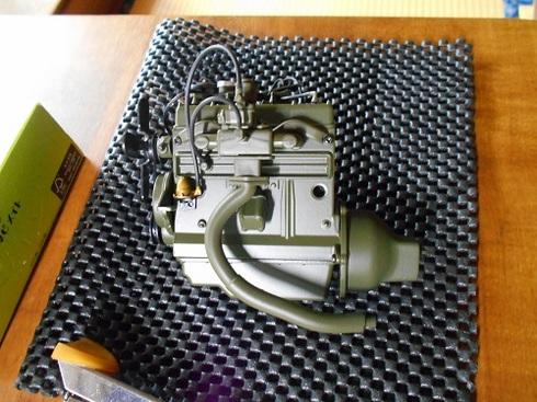 ジープを作る、エンジン.JPG