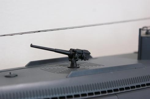 夫が作る伊四〇〇。夫が撮影した写真。11式40口径14cm単装砲.JPG