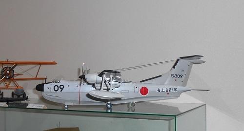 フックの取り付け場所。夫が作る帆船模型・日本丸.JPG