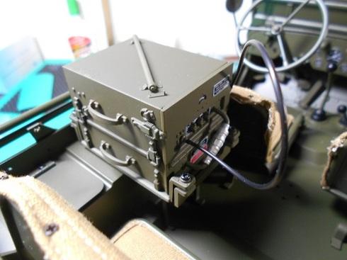 夫が作る手作り模型・ジープ.JPG
